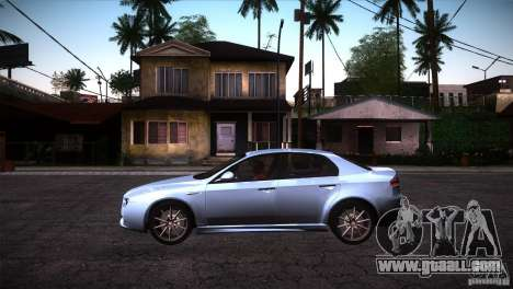 Alfa Romeo 159 Ti for GTA San Andreas left view