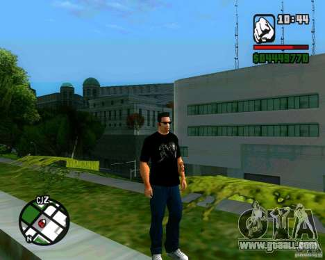 T-shirt AVP for GTA San Andreas second screenshot