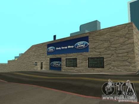Auto Show Ford for GTA San Andreas