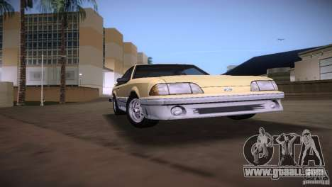 Ford Mustang GT 1993 for GTA Vice City right view