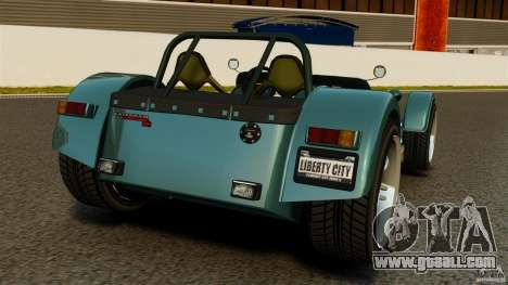 Caterham Superlight R500 for GTA 4 back left view