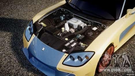 Mazda RX-7 Veilside v0.8 for GTA 4 back view
