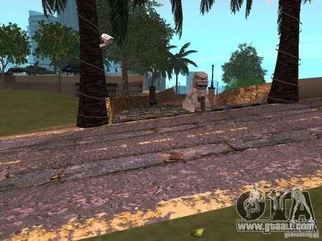 New roads in Vajnvude for GTA San Andreas third screenshot