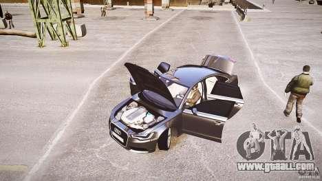 Audi A6 v1.0 for GTA 4 inner view