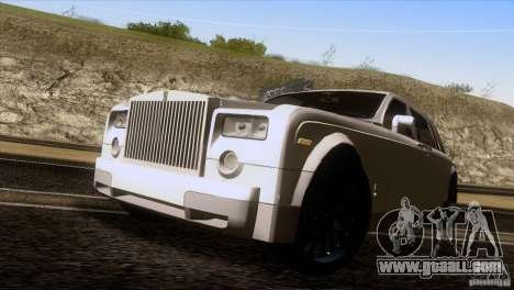 Rolls Royce Phantom Hamann for GTA San Andreas right view