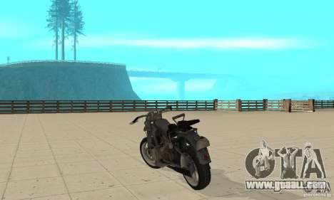 Bike Wolfenstein for GTA San Andreas back left view
