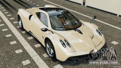 Pagani Huayra 2011 v1.0 [EPM] for GTA 4