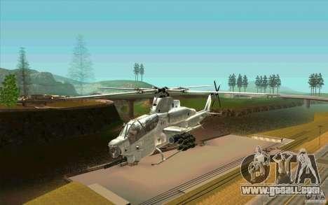 AH-1Z Viper for GTA San Andreas