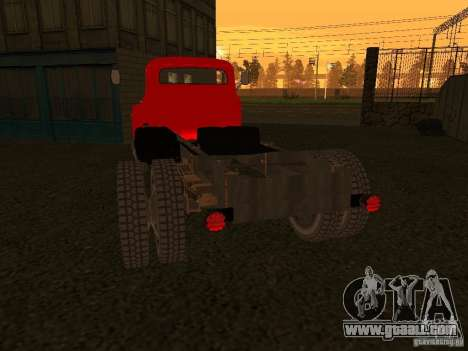 GAZ 53 Truck for GTA San Andreas right view