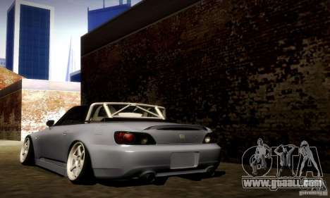 Honda S2000 Street Tuning for GTA San Andreas back left view