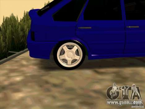 ВАЗ 2114 for GTA San Andreas side view