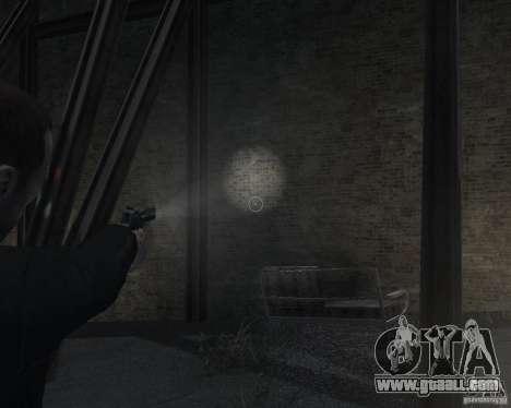 Flashlight for Weapons v 2.0 for GTA 4 sixth screenshot