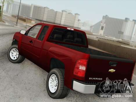 Chevrolet Silverado 2500HD 2013 for GTA San Andreas interior