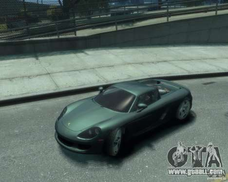Porsche Carrera GT for GTA 4