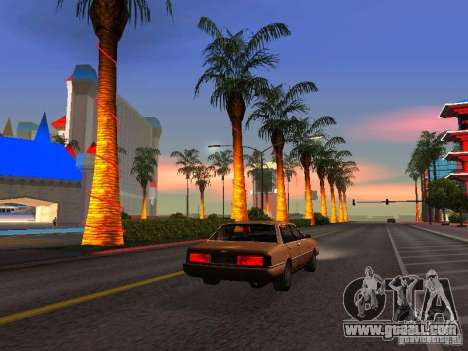 Graphics from the console versions for GTA San Andreas third screenshot