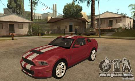 Shelby GT500 2010 for GTA San Andreas