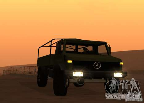 Mercedes-Benz Unimog for GTA San Andreas
