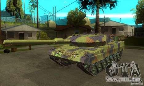 Leopard 2 A6 for GTA San Andreas
