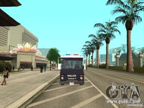 S.W.A.T. Los Angeles for GTA San Andreas right view