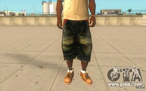 The BIG Makaveli Short Jeans for GTA San Andreas