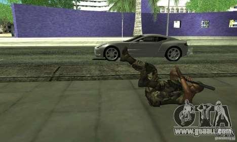 Sam Fisher Army SCDA for GTA San Andreas fifth screenshot