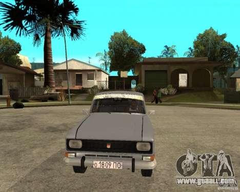 AZLK Moskvich 2140- for GTA San Andreas back view