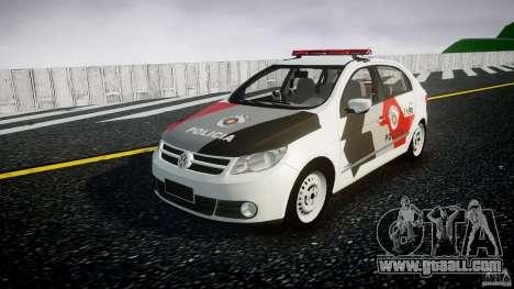 Volkswagen Gol G5 PMSP [ELS] for GTA 4