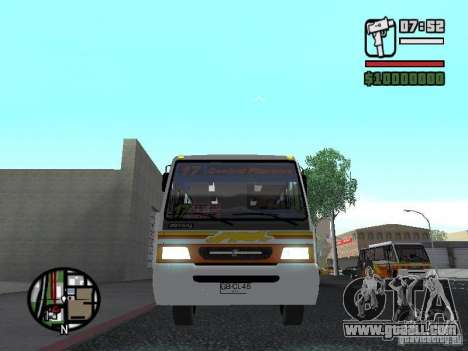 Ciferal Agilis M.Benz LO-814 BY GTABUSCL for GTA San Andreas inner view