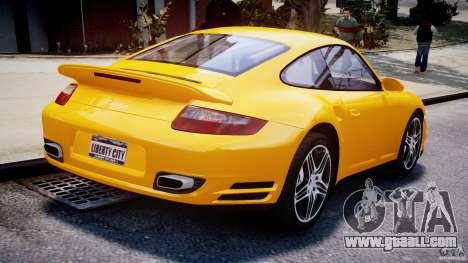 Porsche 911 Turbo V3.5 for GTA 4 inner view