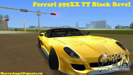 Ferrari 599XX for GTA Vice City