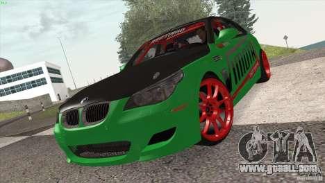BMW M5 E60 Darius Balys for GTA San Andreas left view