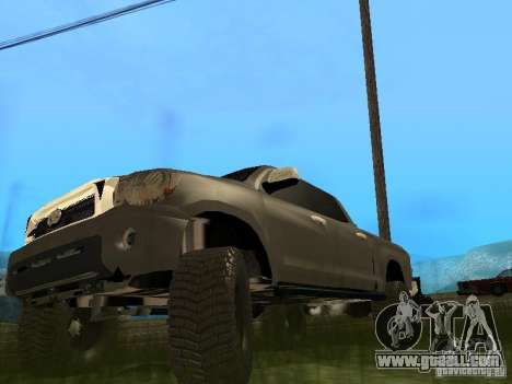 Toyota Tacoma 2011 for GTA San Andreas left view