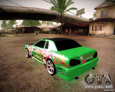 Elegy Toy Sport v2.0 Shikov Version for GTA San Andreas left view