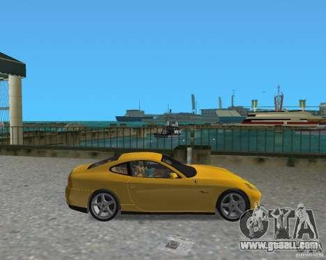 Ferrari 612 Scaglietti for GTA Vice City left view