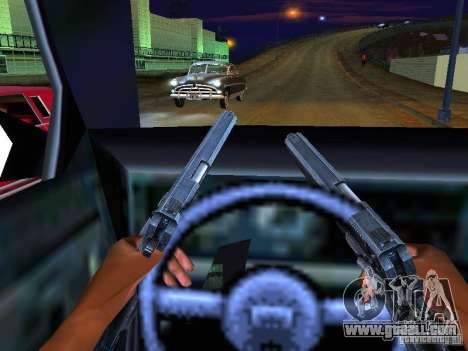 Ambulance 1987 San Andreas for GTA San Andreas interior