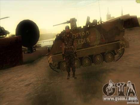 Frank Woods for GTA San Andreas seventh screenshot