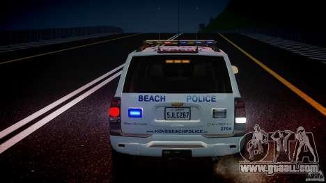 Chevrolet Trailblazer Police V1.5PD [ELS] for GTA 4 engine