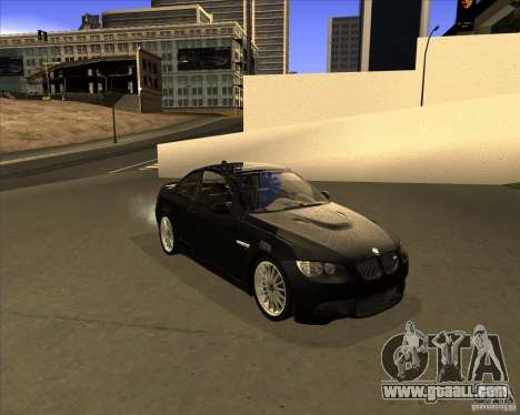 BMW M3 Convertible 2008 for GTA San Andreas left view