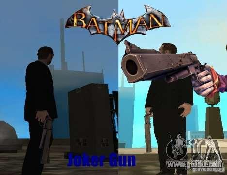 Joker Gun/Cannon Joker for GTA San Andreas