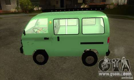 Suzuki Carry 1993 for GTA San Andreas left view