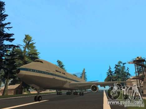 Boeing 747-100 Pan American Airways for GTA San Andreas