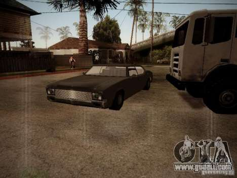 Impaler 1987 San Andreas Stories for GTA San Andreas left view