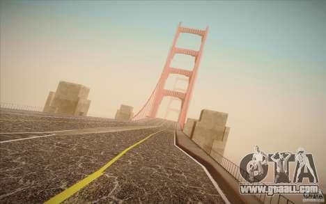 New roads San Fierro for GTA San Andreas