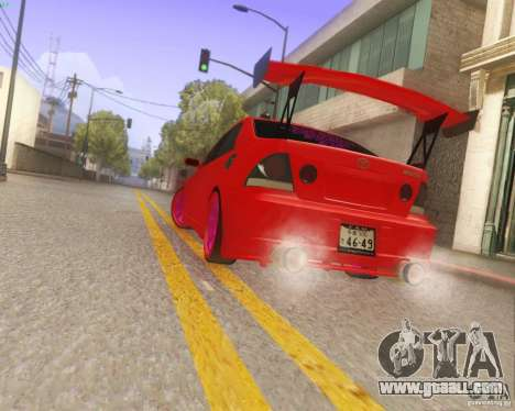 Toyota Altezza Drift Style v4.0 Final for GTA San Andreas side view