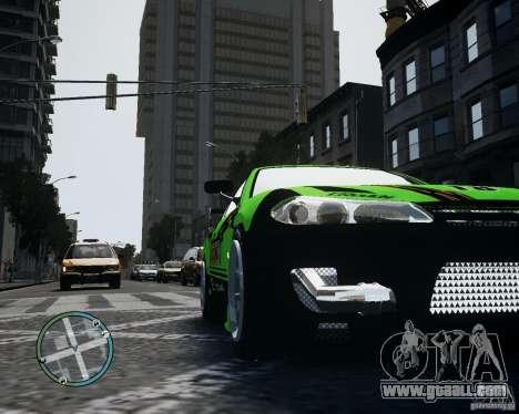 Nissan Silvia for GTA 4 back view