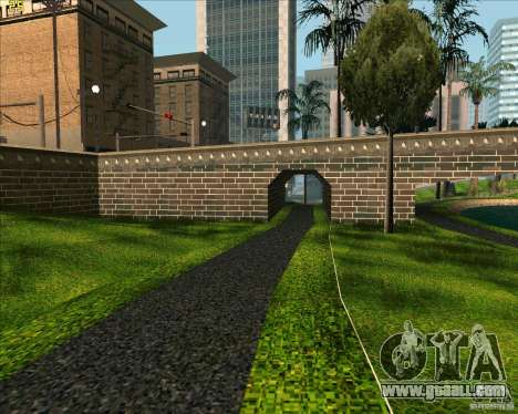 The new Park in Los Santos for GTA San Andreas second screenshot
