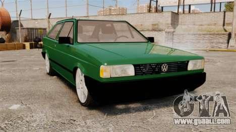 Volkswagen Gol GL 1992 Edit for GTA 4