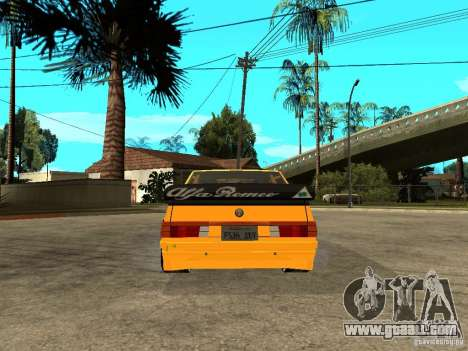 Alfa Romeo 75 Turbo Evoluzione for GTA San Andreas