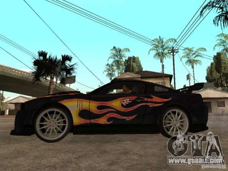 Ford Mustang GT Razor NFS MW for GTA San Andreas left view