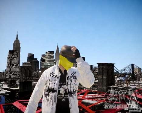 Niko The Mask for GTA 4 sixth screenshot
